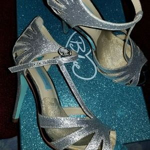 Blue by Betsy Johnson Wedding shoe